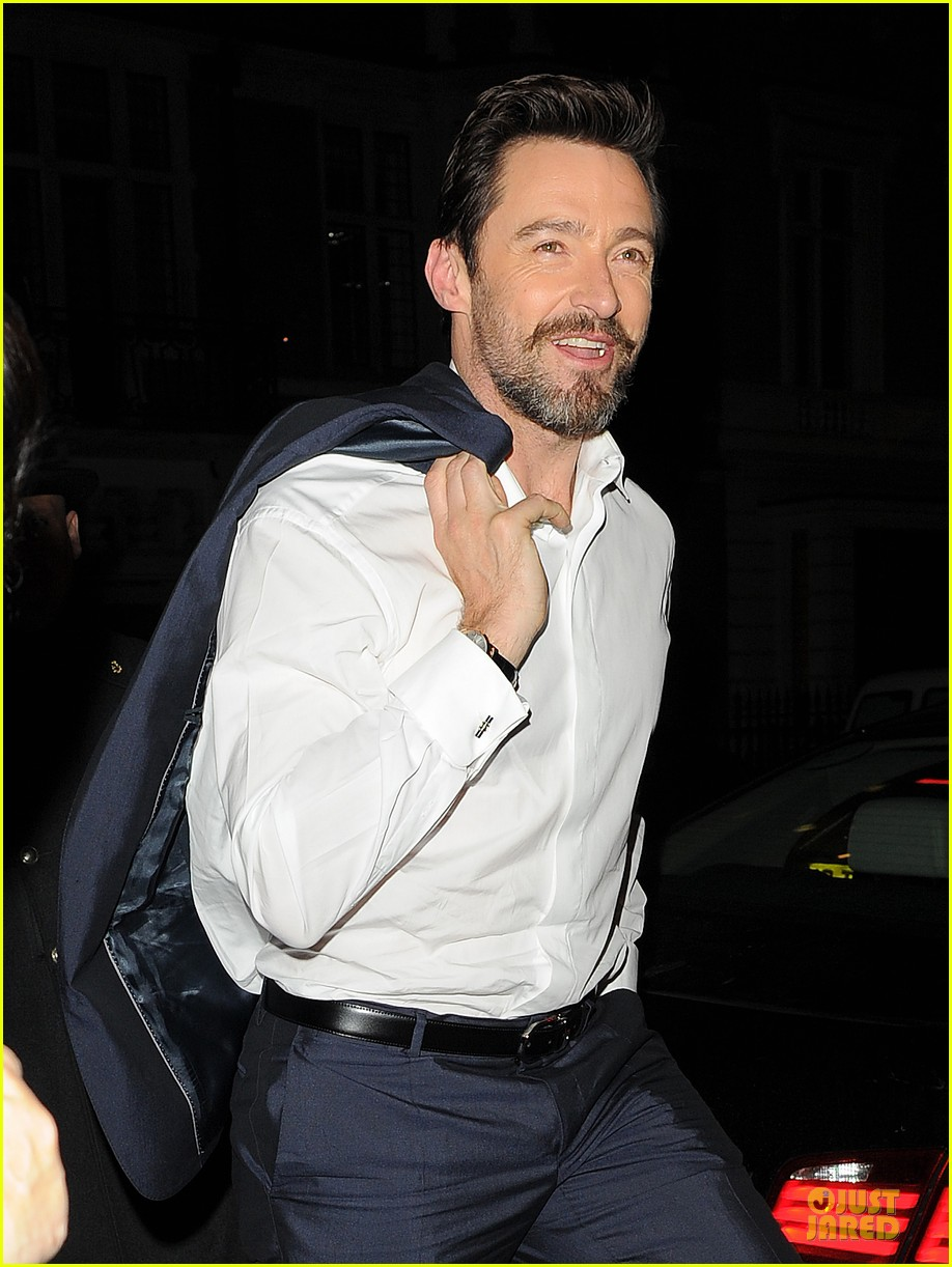 hugh jackman enjoys the ride of promoting xmen 063083548