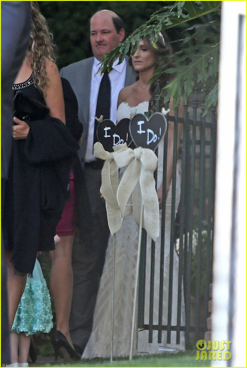 John Krasinski Emily Blunt Wedding.John Krasinski Wife Emily Blunt Attend Office Co Star