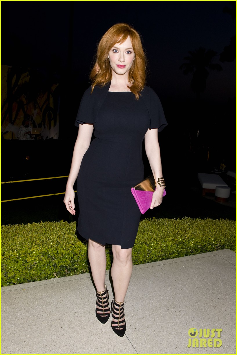 january jones christina hendricks ladies of mad men help launch jimmy choos choo 08 103093196