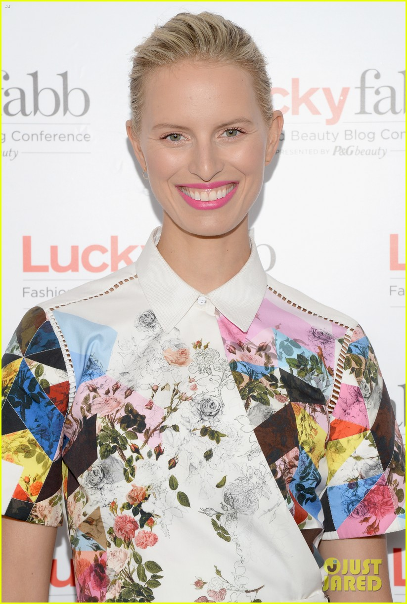 january jones nicole richie lucky fabb conference 193084733