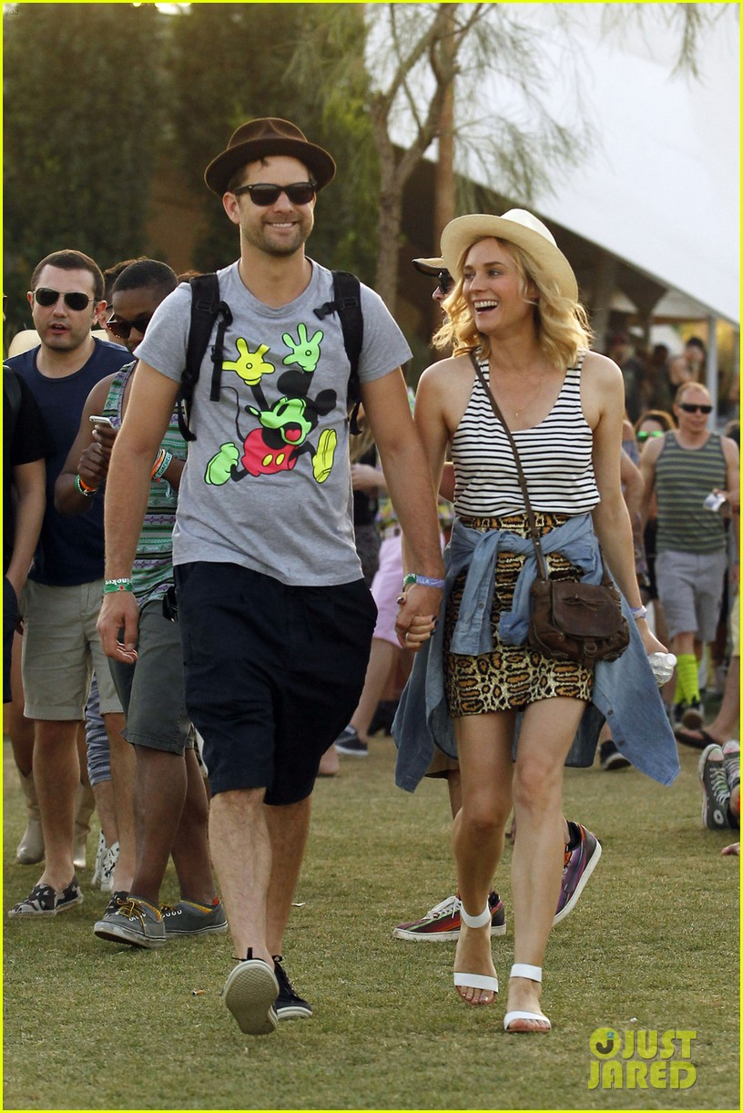 joshua jackson diane kruger inseparable at coachella 2014 013095599