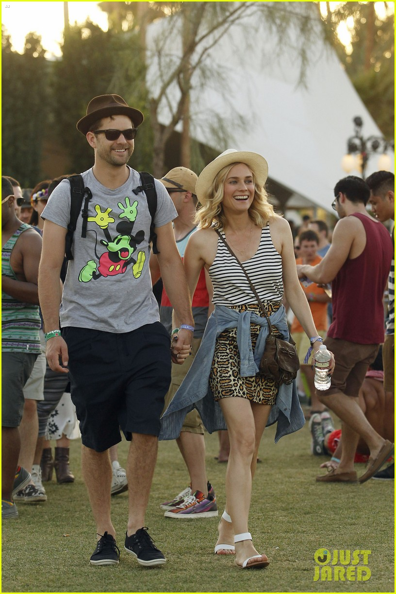 joshua jackson diane kruger inseparable at coachella 2014 033095601