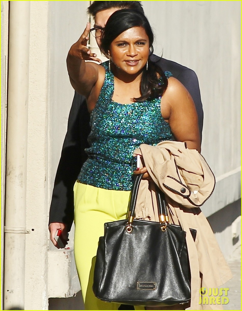 mindy kaling takes lots of effort to look like a normal person 023082816