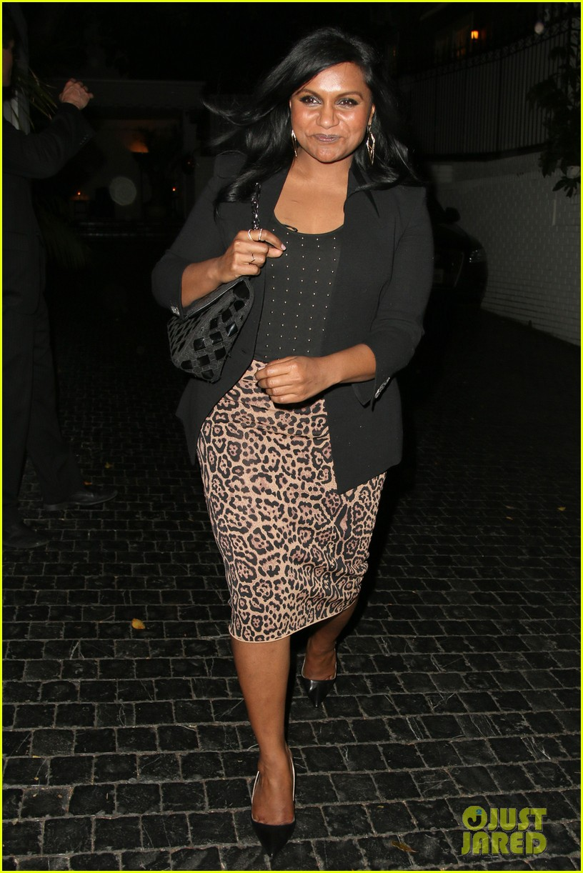 mindy kaling emerges right before being named to peoples most beautiful list 053097580