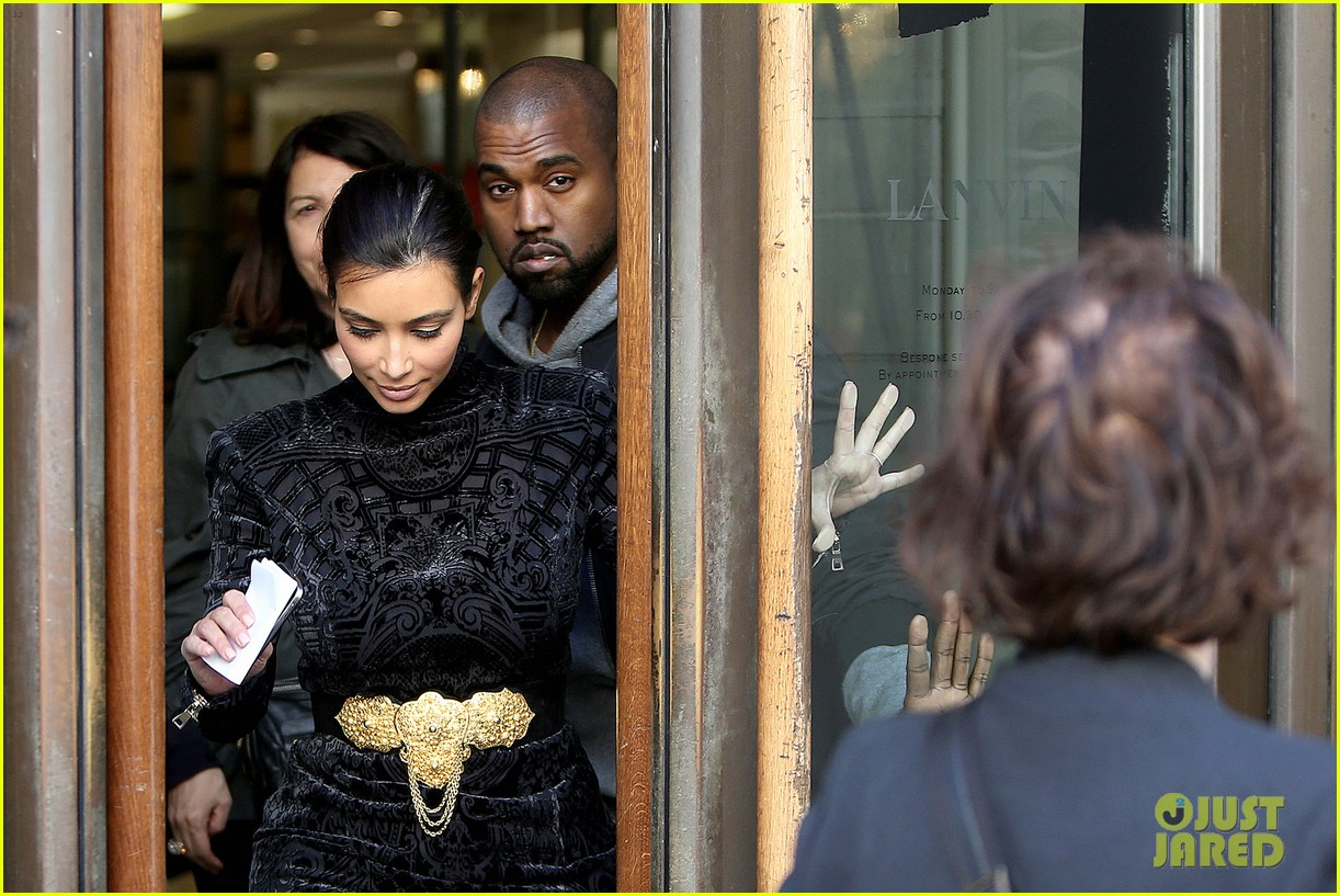 kim kardashian changes into two different dresses 113091986