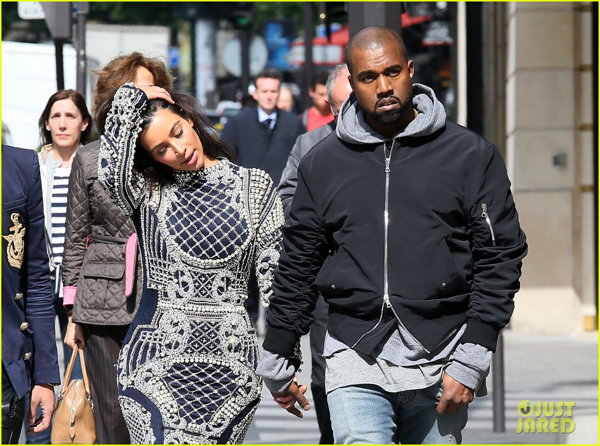 kim kardashian changes into two different dresses 183091993