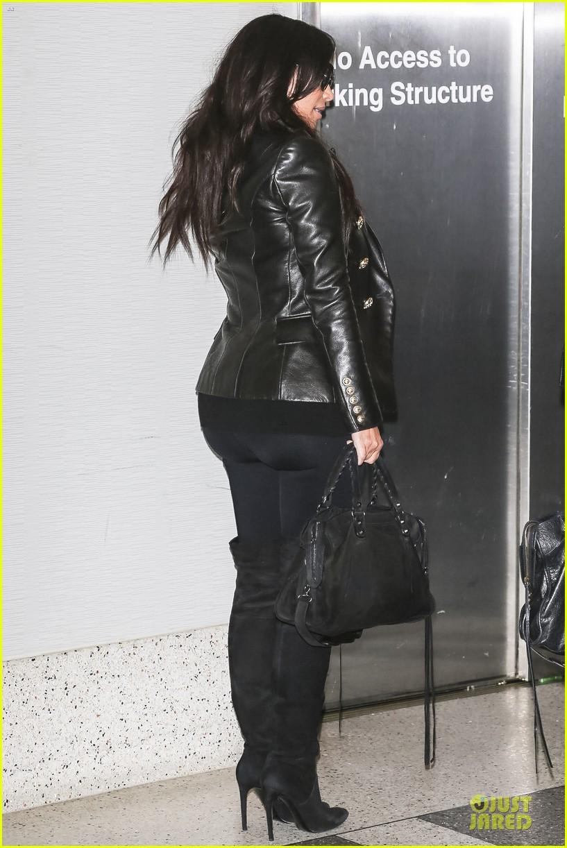 kim kardashian hot in plunging white dress 203089922
