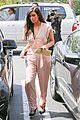 kim kardashian rocks pink jumpsuit with totally sheer back 17