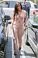 kim kardashian rocks pink jumpsuit with totally sheer back 30