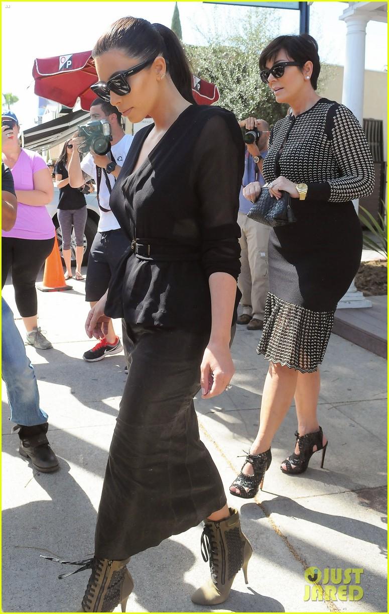 kim kardashian goes shopping for bikinis with mom kris jenner 093097744