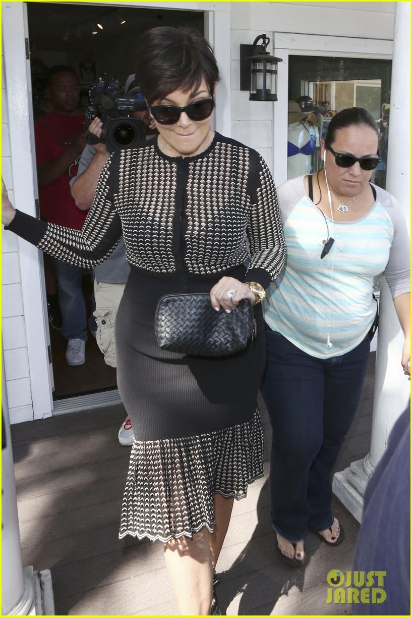 kim kardashian goes shopping for bikinis with mom kris jenner 123097747