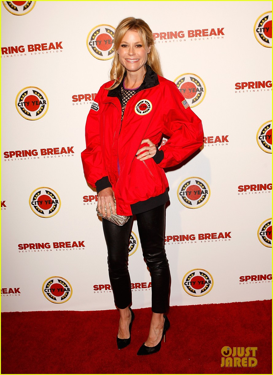 katie lowes julie bowen city year los angeles 2014 07