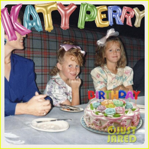 katy perrys birthday single cover art is an amazing tbt pic 023084029