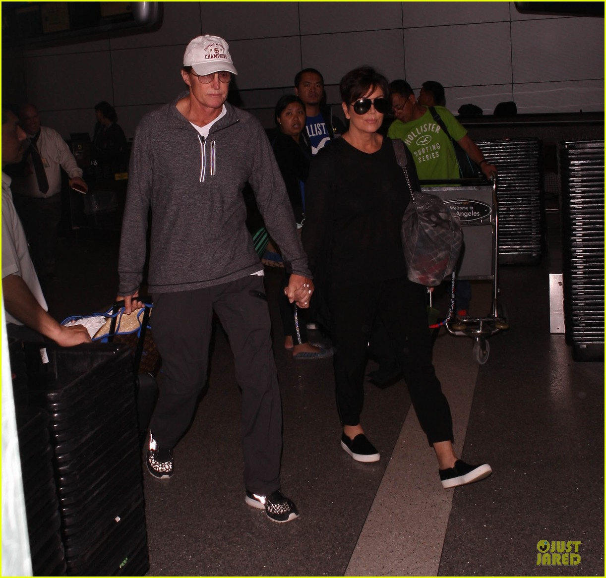 kendall kylie jenner arrive with bruce kris 073083602