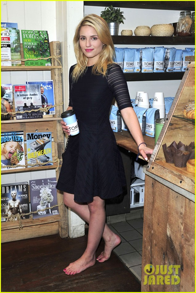 dianna agron jaime king go without shoes for toms 033101787