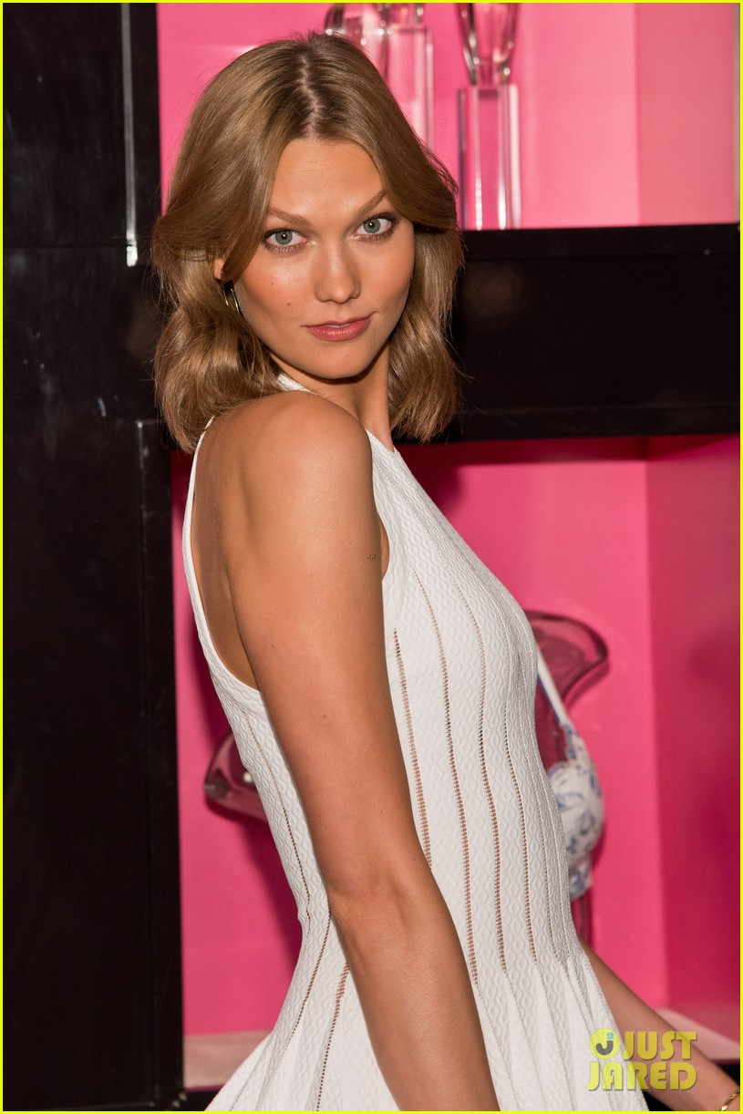 karlie kloss spreads her wings at victorias secret heavenly launch 013102208