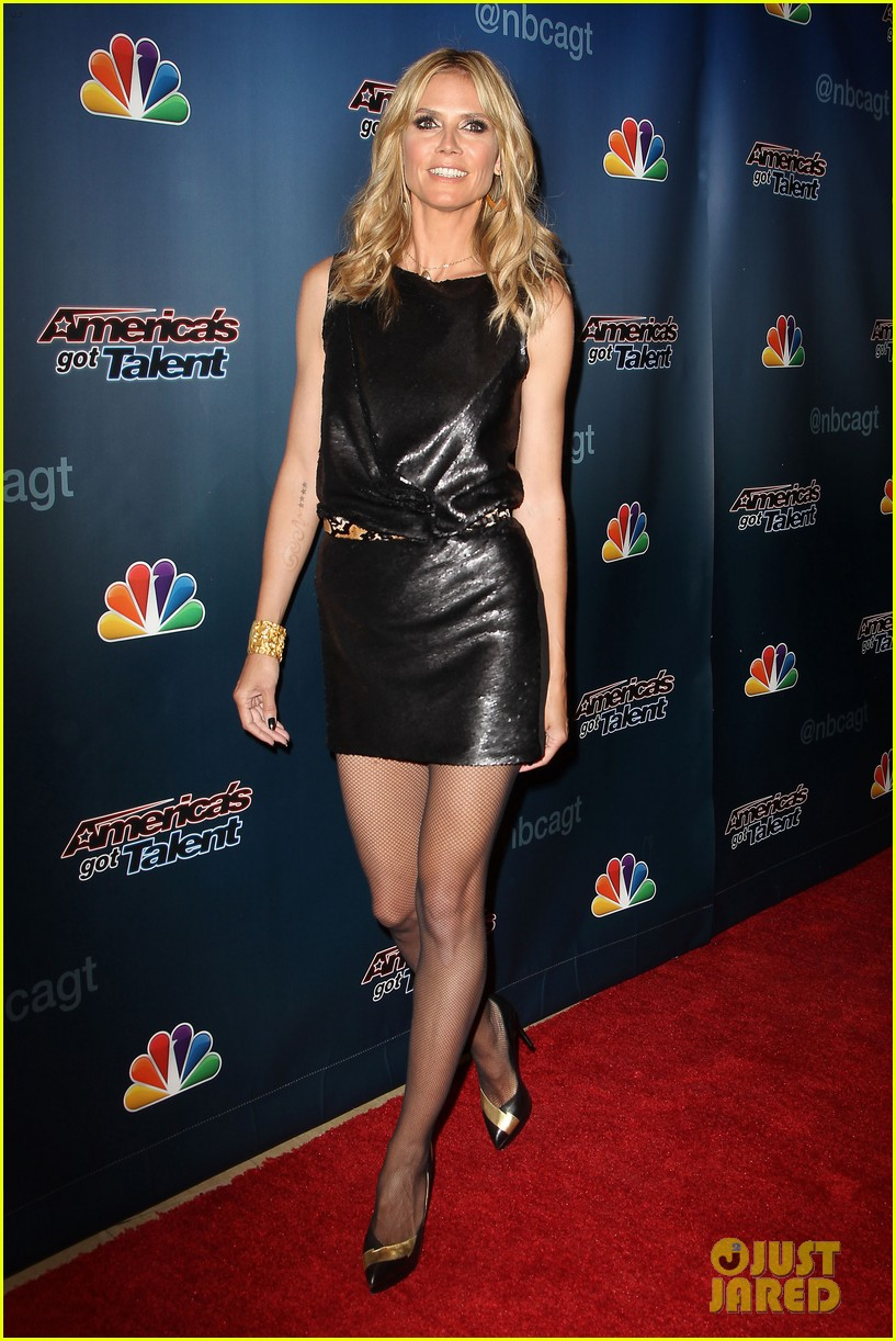 heidi klum americas got talent new york 113084642