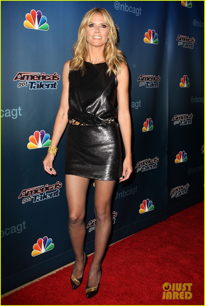 heidi klum americas got talent new york 12