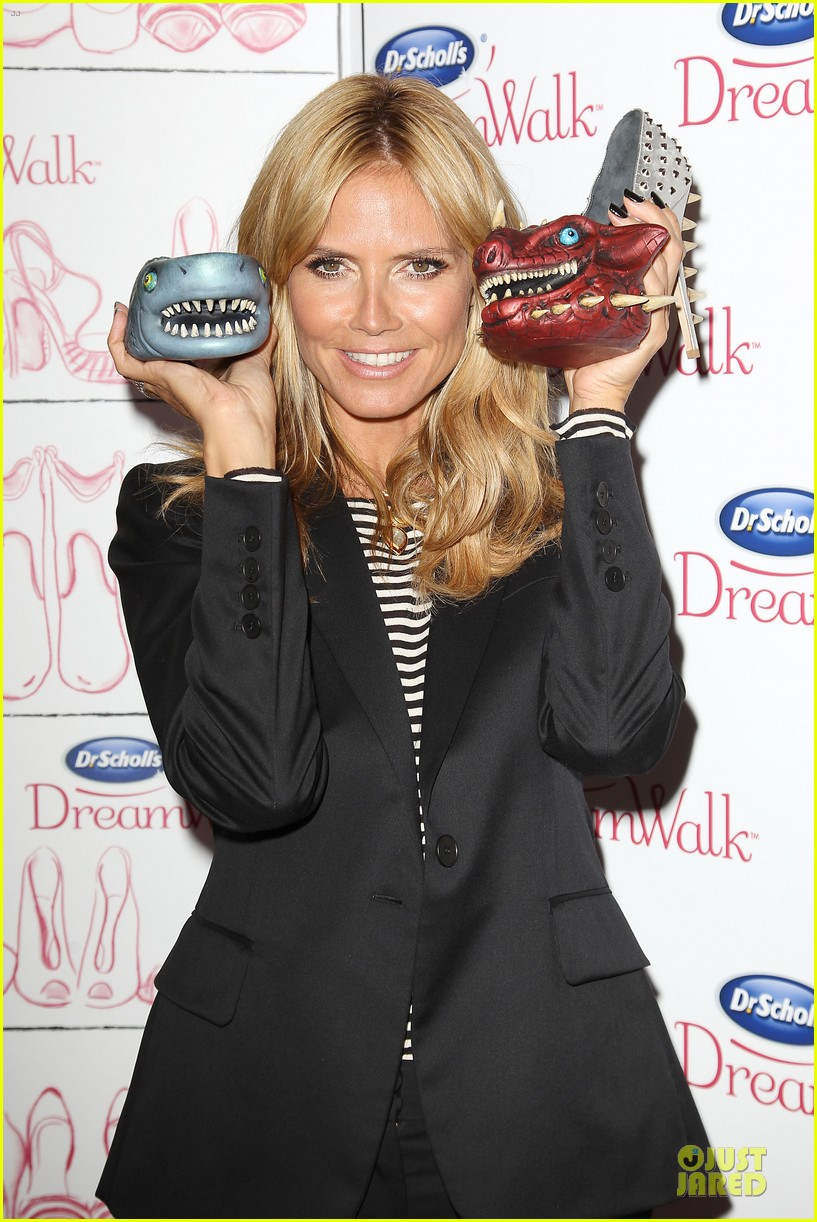 heidi klum dr scholl dreamwalk line meet needs 043083537