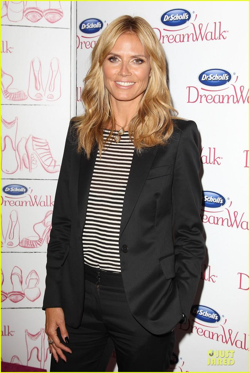 heidi klum dr scholl dreamwalk line meet needs 05