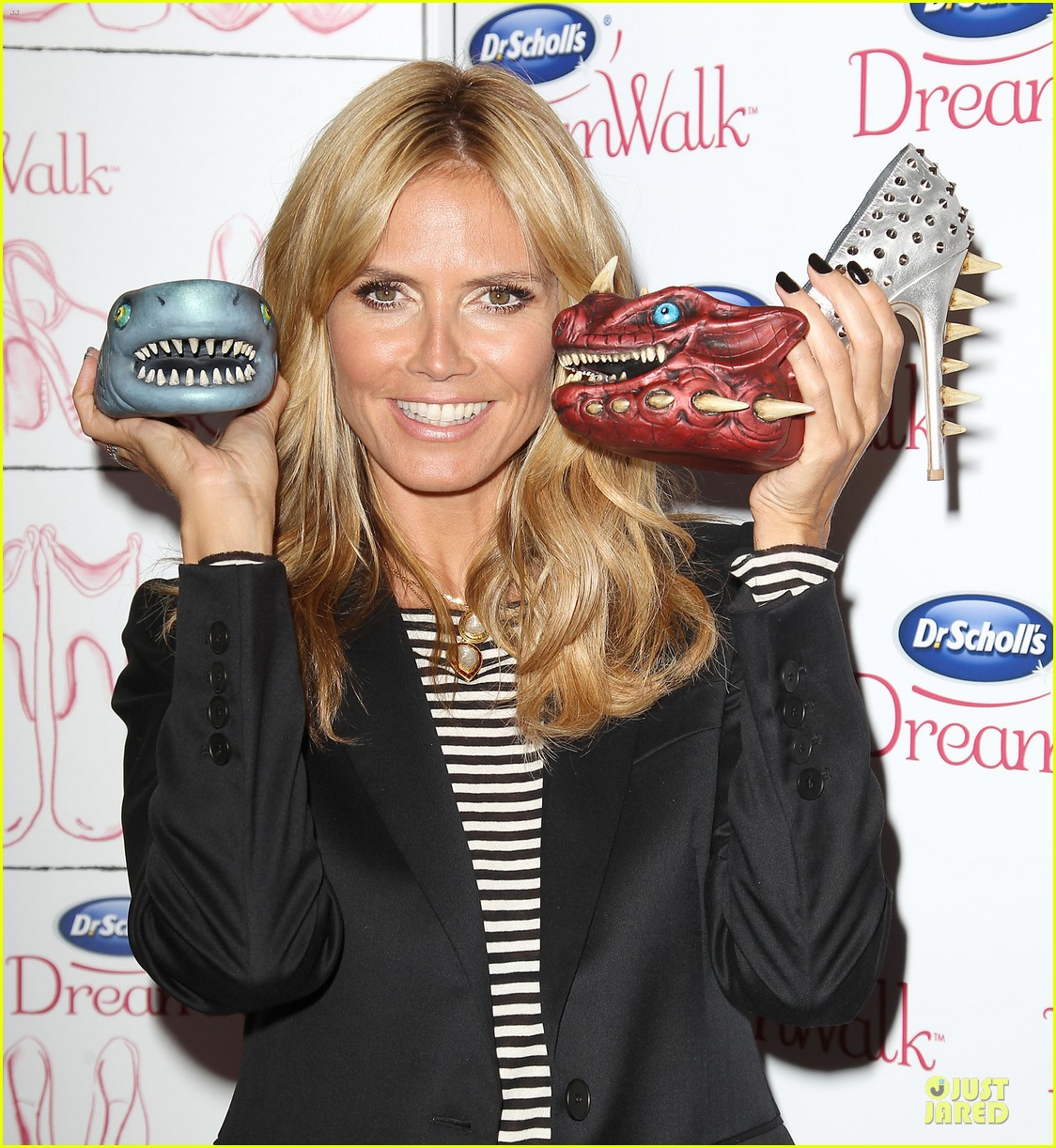 heidi klum dr scholl dreamwalk line meet needs 083083541