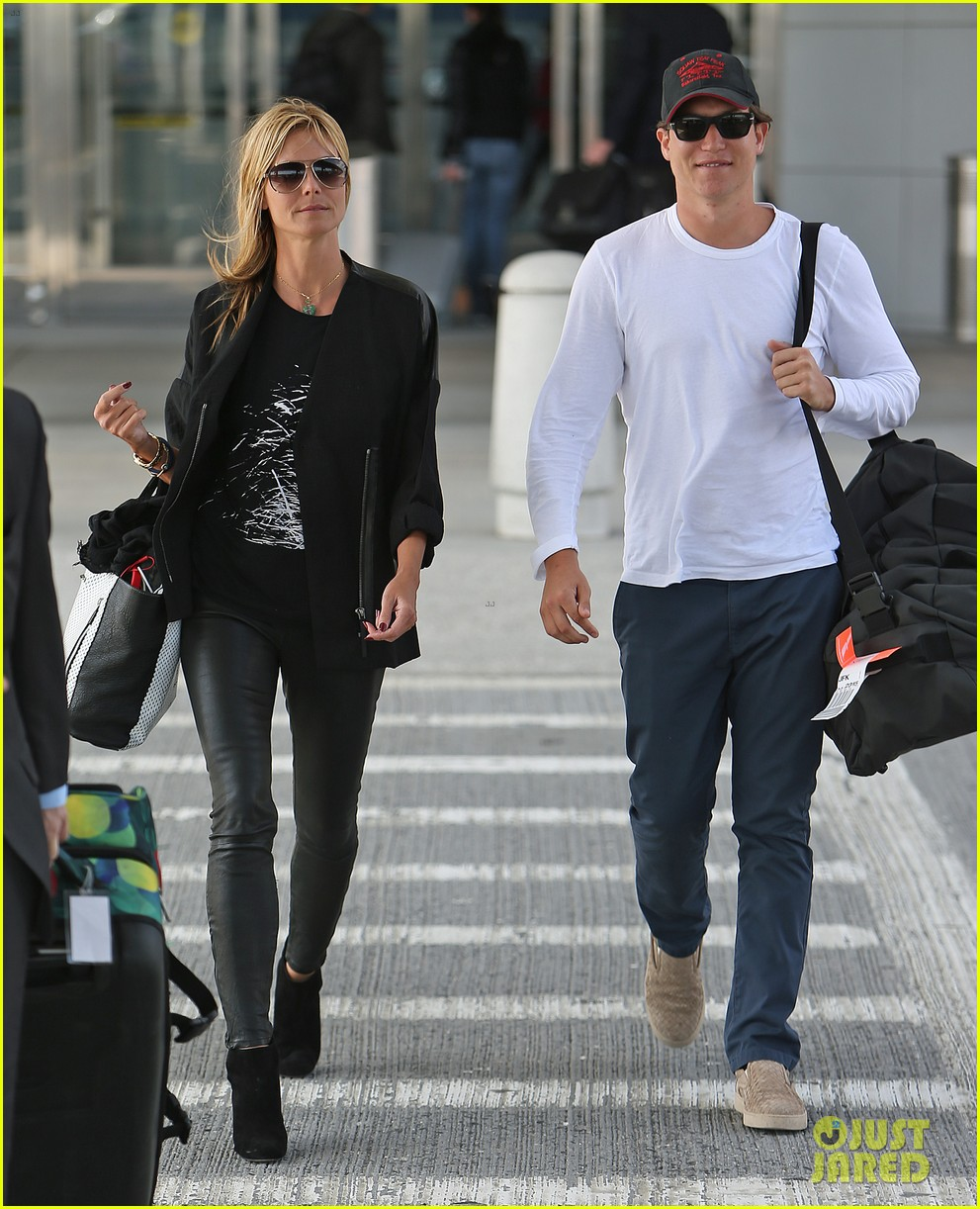 heidi klum boyfriend vito schnabel home after mexico vacation 023094177