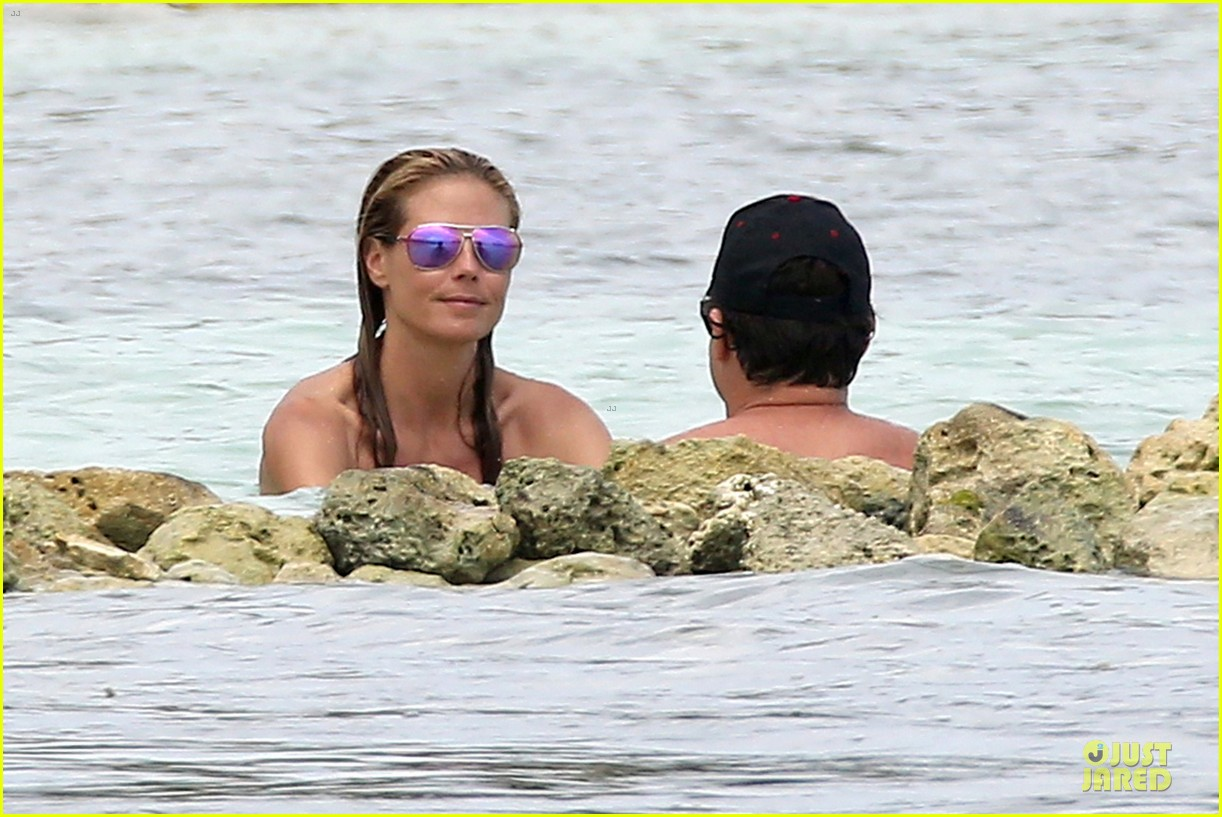 heidi klum continues topless vacation 06