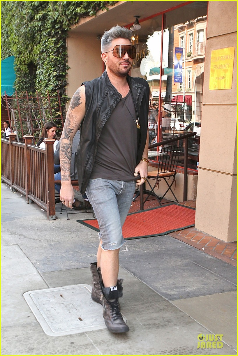 adam lambert tattooed guns sight you can miss 083096560
