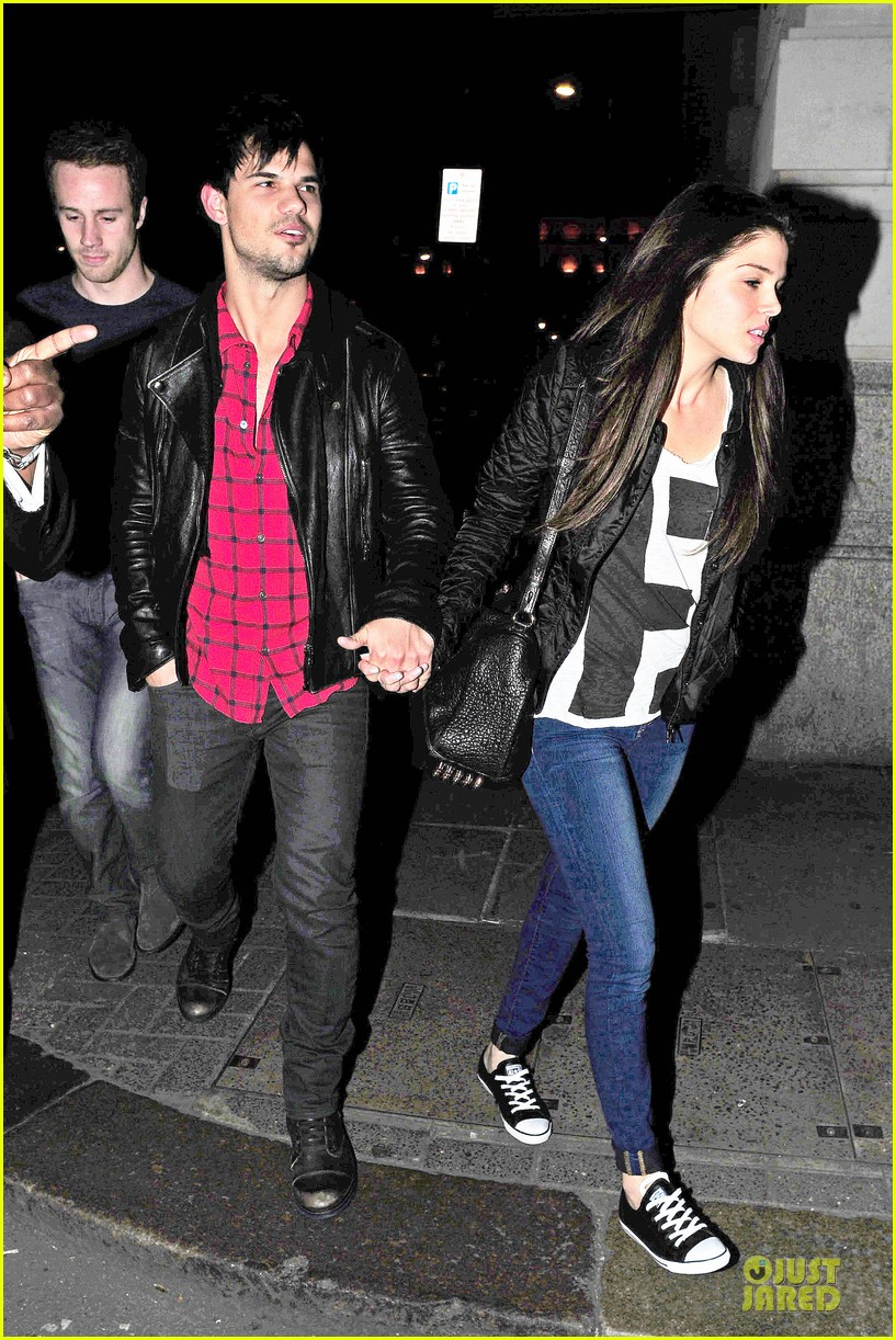 taylor lautner marie avgeropoulos inseparable london 033092527