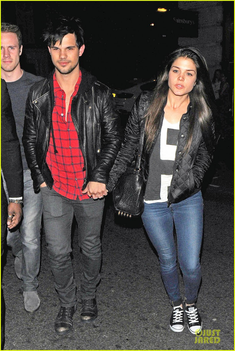 taylor lautner marie avgeropoulos inseparable london 063092530