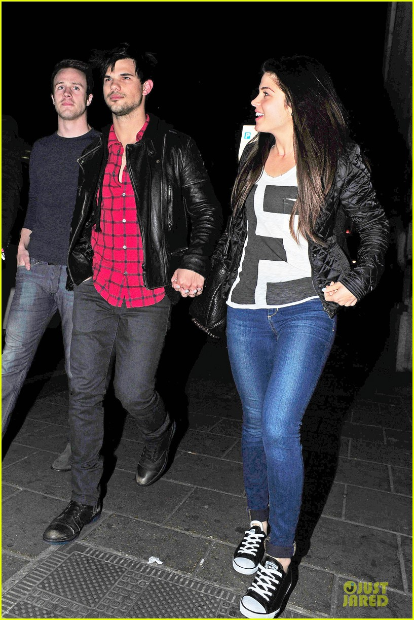 taylor lautner marie avgeropoulos inseparable london 083092532