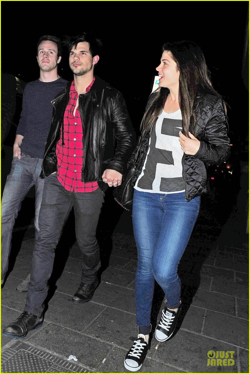 taylor lautner marie avgeropoulos inseparable london 10