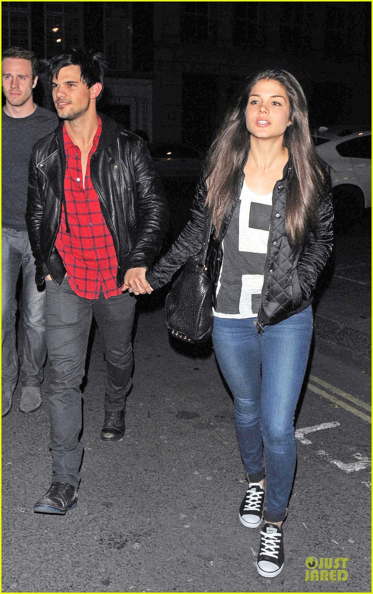 taylor lautner marie avgeropoulos inseparable london 113092535