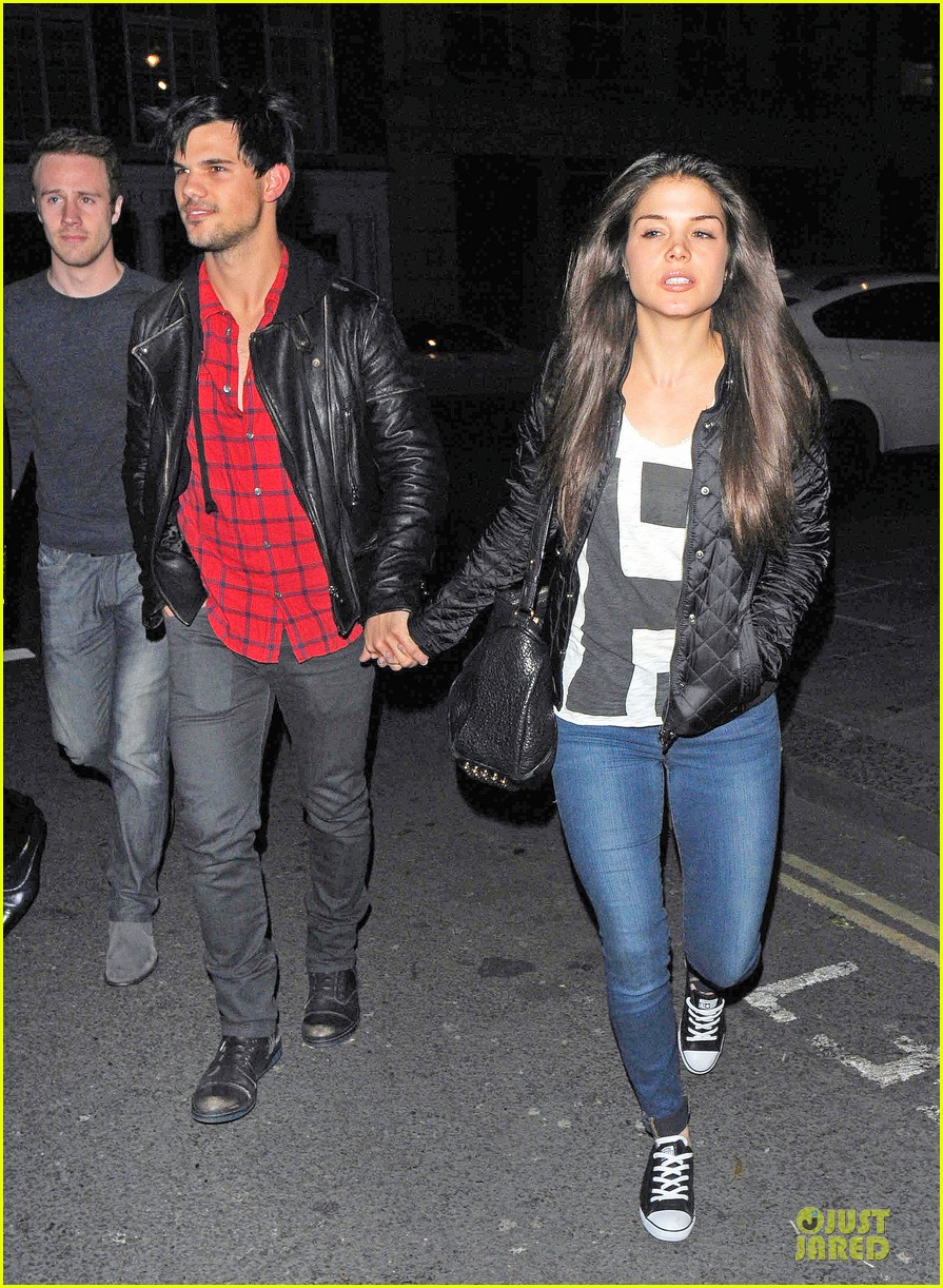taylor lautner marie avgeropoulos inseparable london 123092536