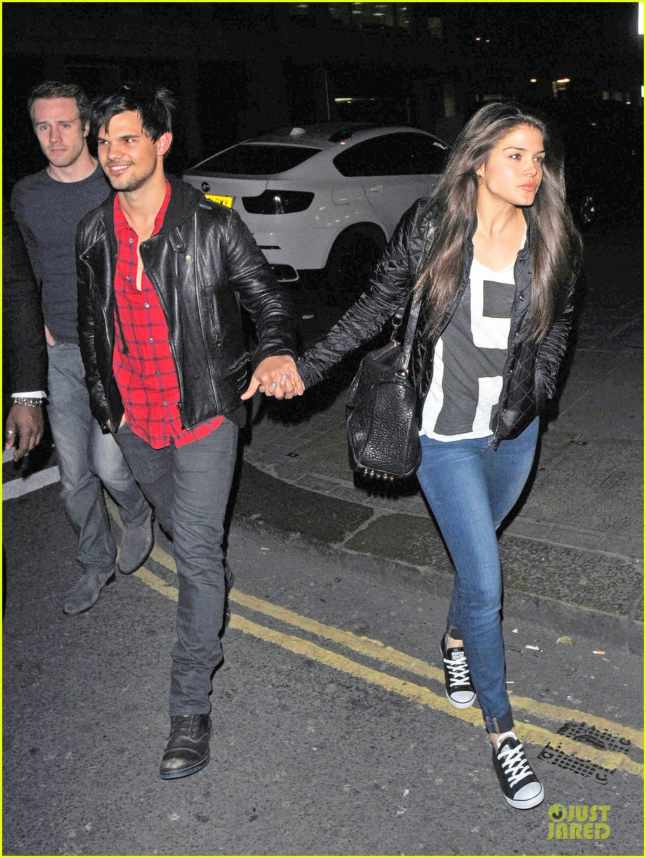 taylor lautner marie avgeropoulos inseparable london 133092537