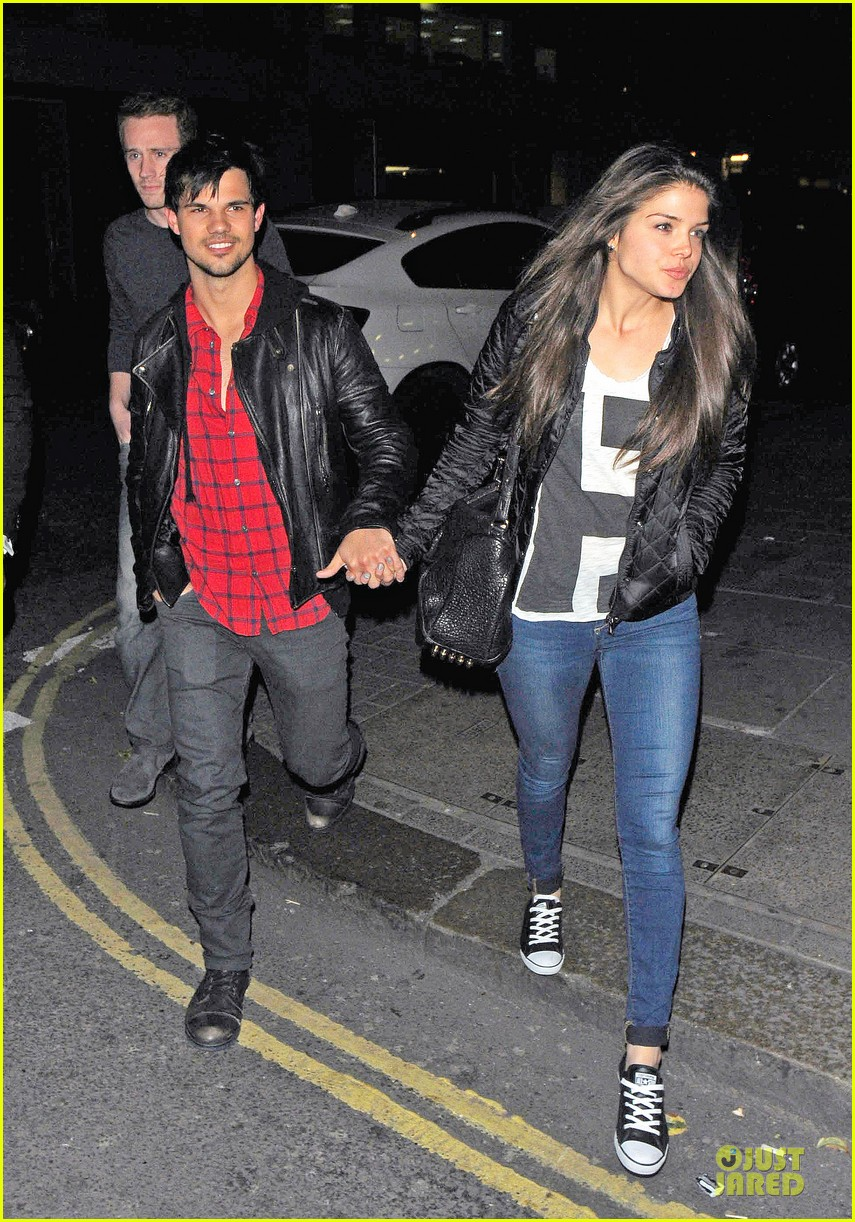 taylor lautner marie avgeropoulos inseparable london 153092539