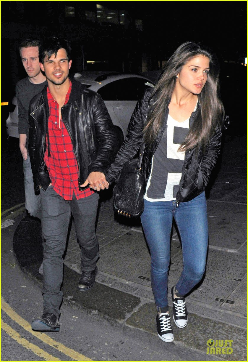 taylor lautner marie avgeropoulos inseparable london 163092540