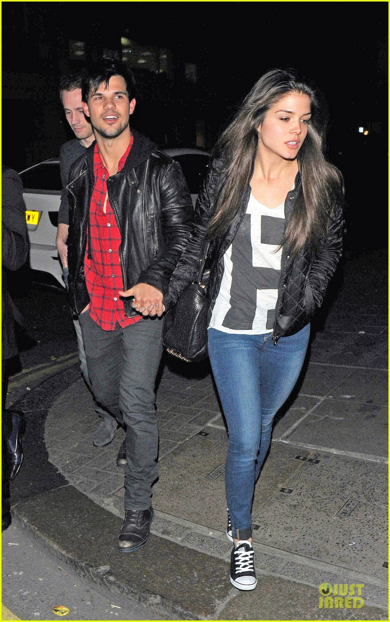 taylor lautner marie avgeropoulos inseparable london 183092542