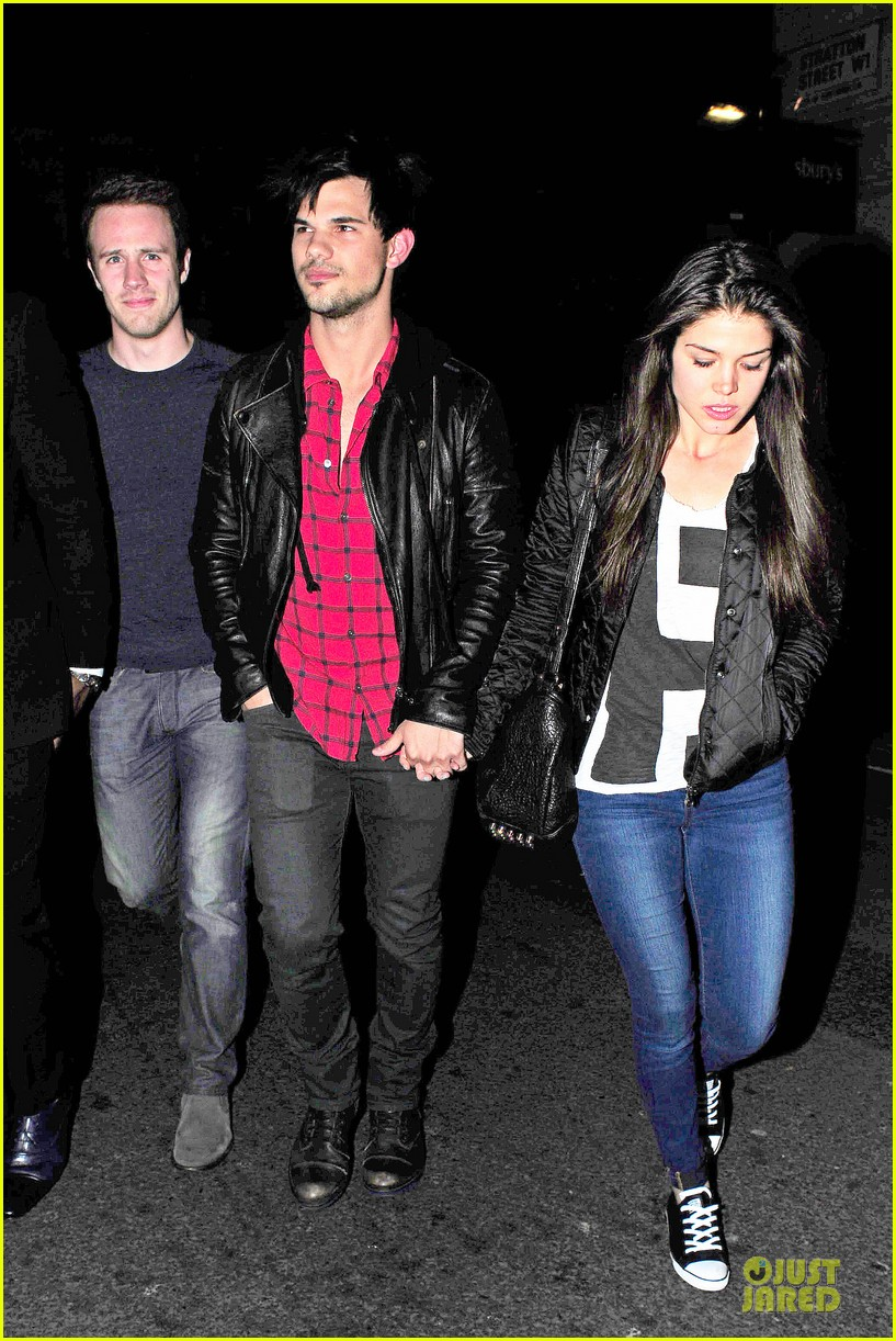 taylor lautner marie avgeropoulos inseparable london 213092545