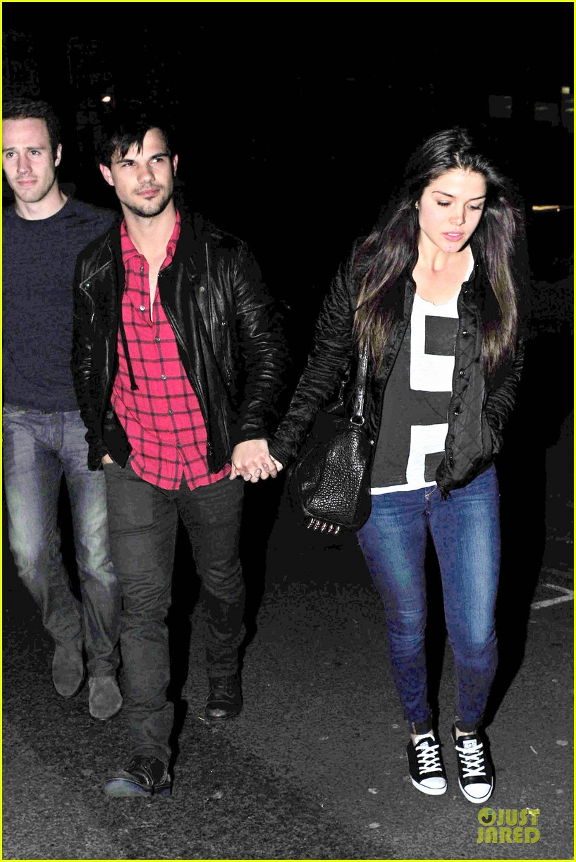 taylor lautner marie avgeropoulos inseparable london 233092547