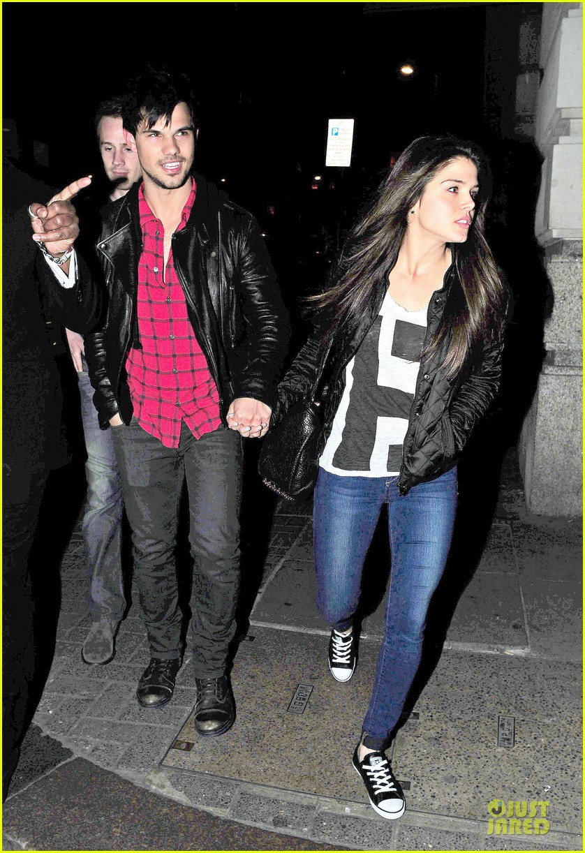 taylor lautner marie avgeropoulos inseparable london 243092548