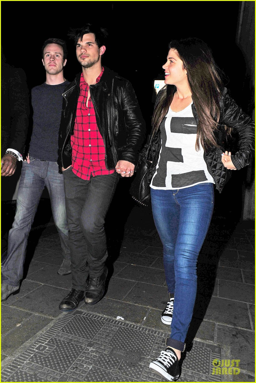 taylor lautner marie avgeropoulos inseparable london 273092551