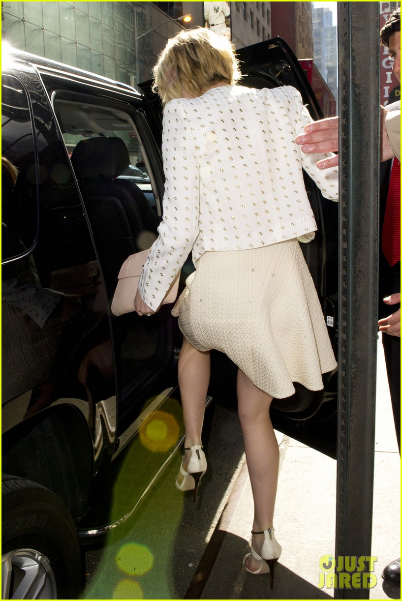 jennifer lawrence goes glam for gma spends easter in nyc 113096133