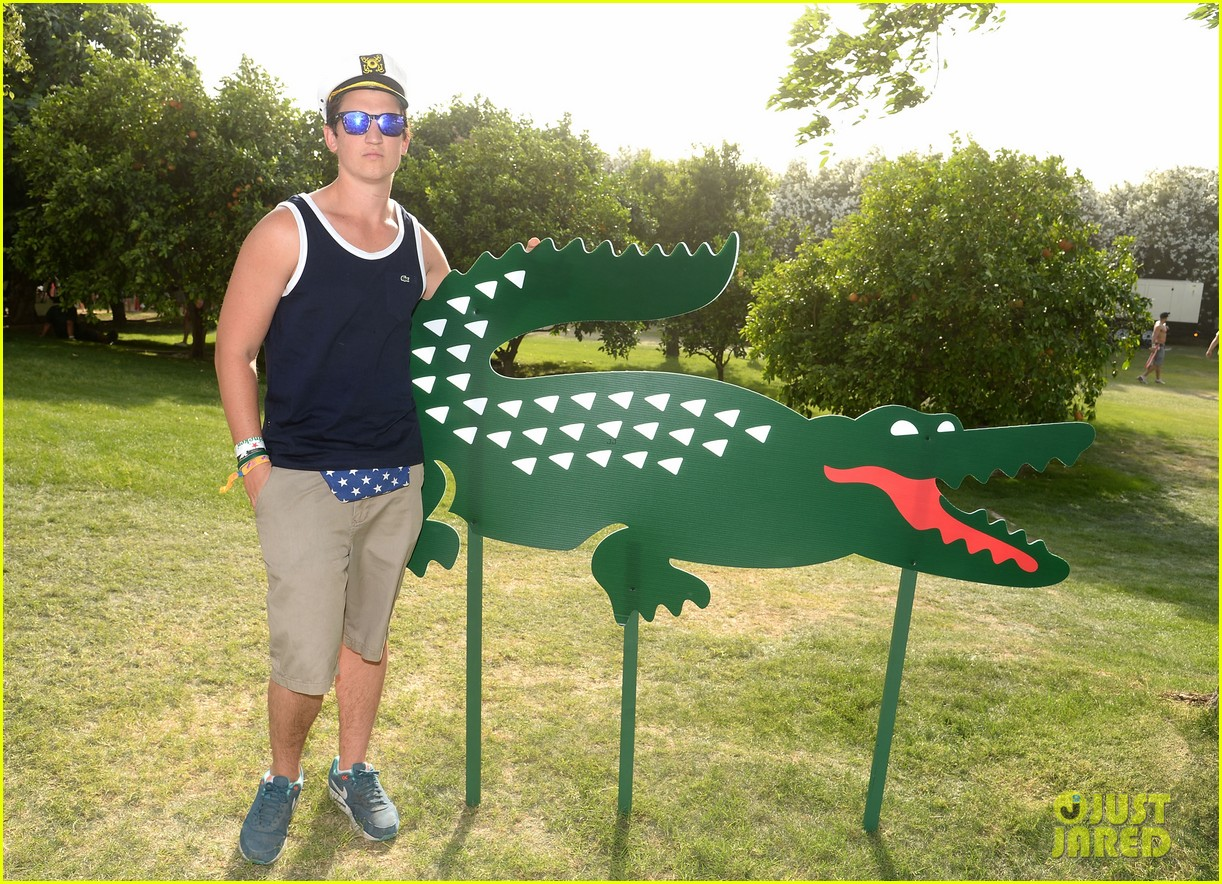 logan lerman miles teller lacoste coachella pool party 053089968