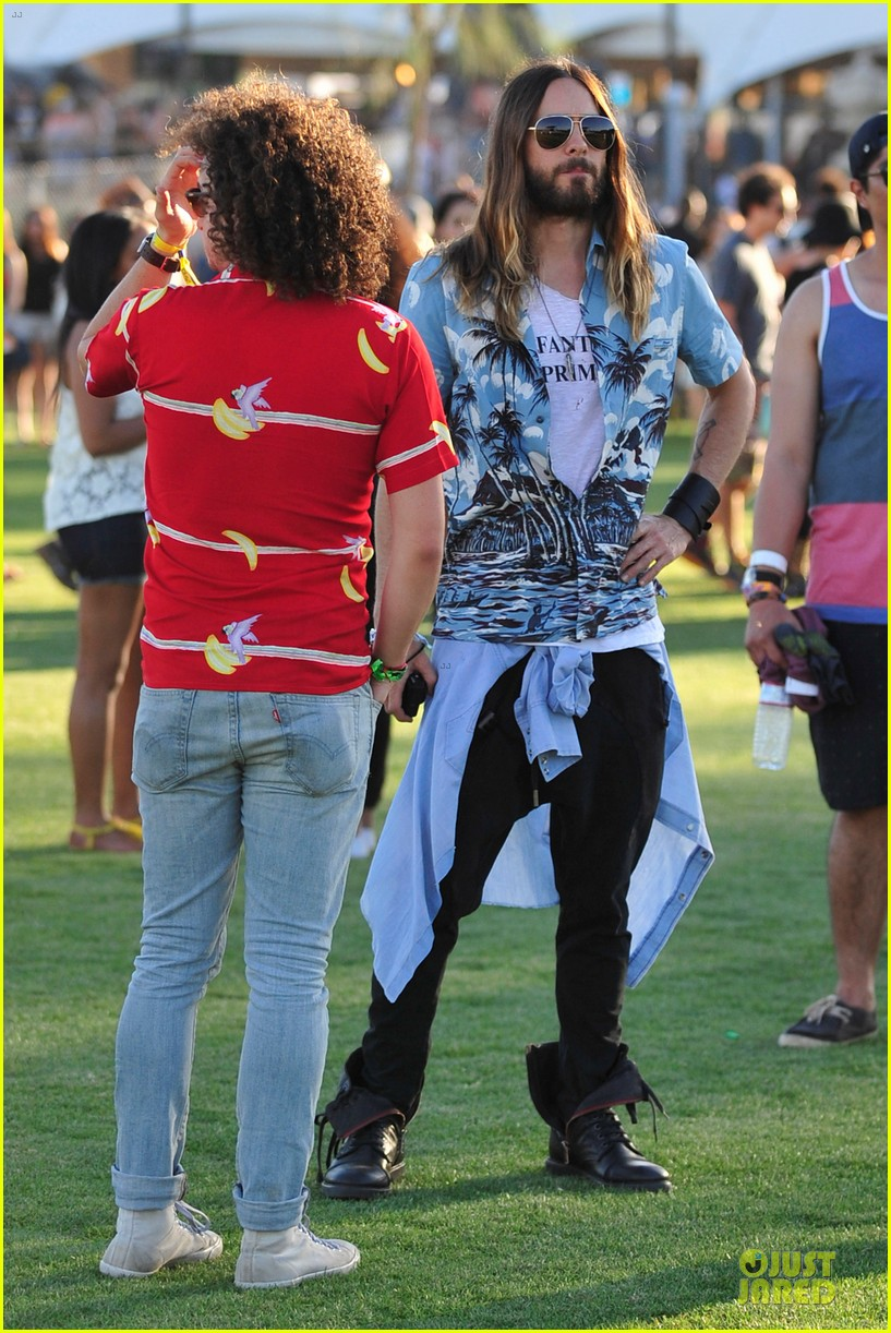 jared leto hawaiian shirt at coachella 073089534