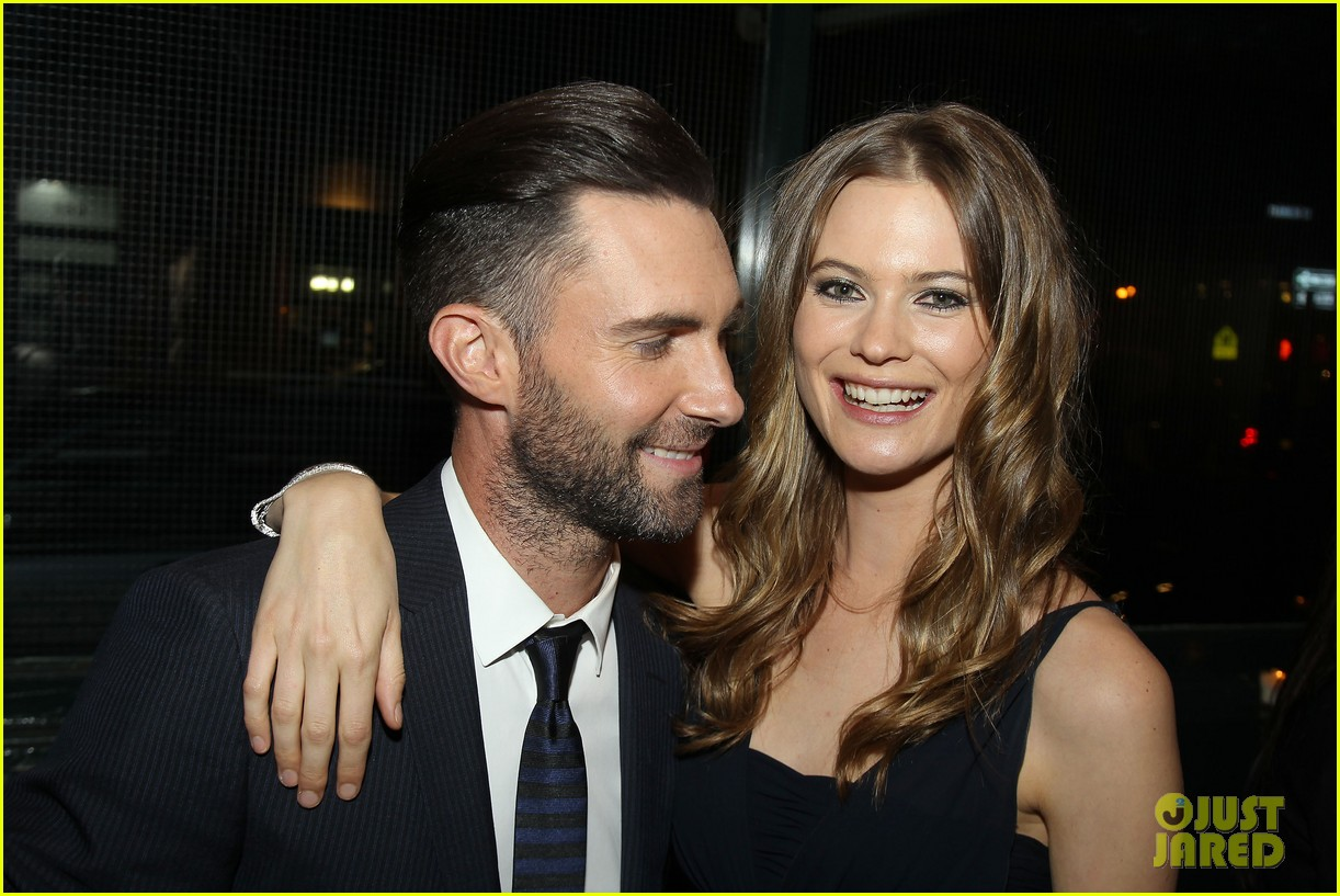 adam levine behati prinsloo party the night away at tribeca 133099966