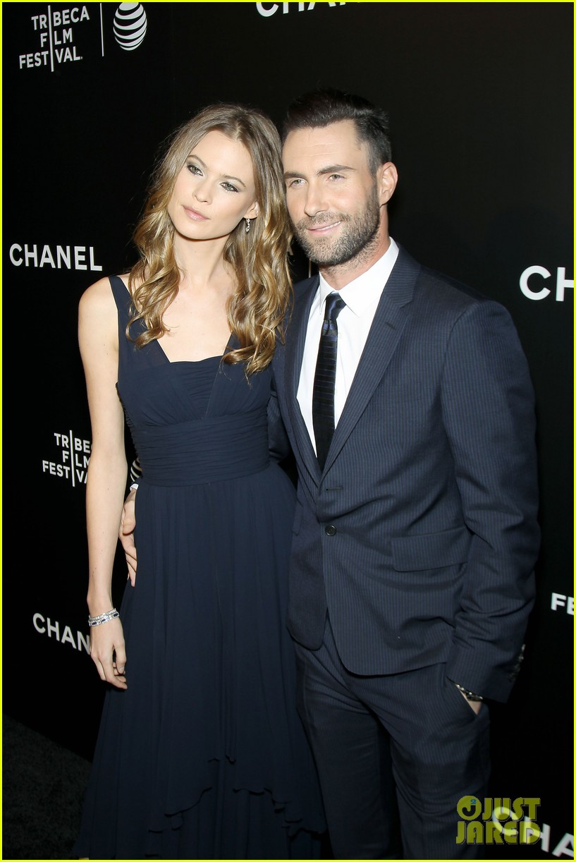 adam levine behati prinsloo party the night away at tribeca 153099968