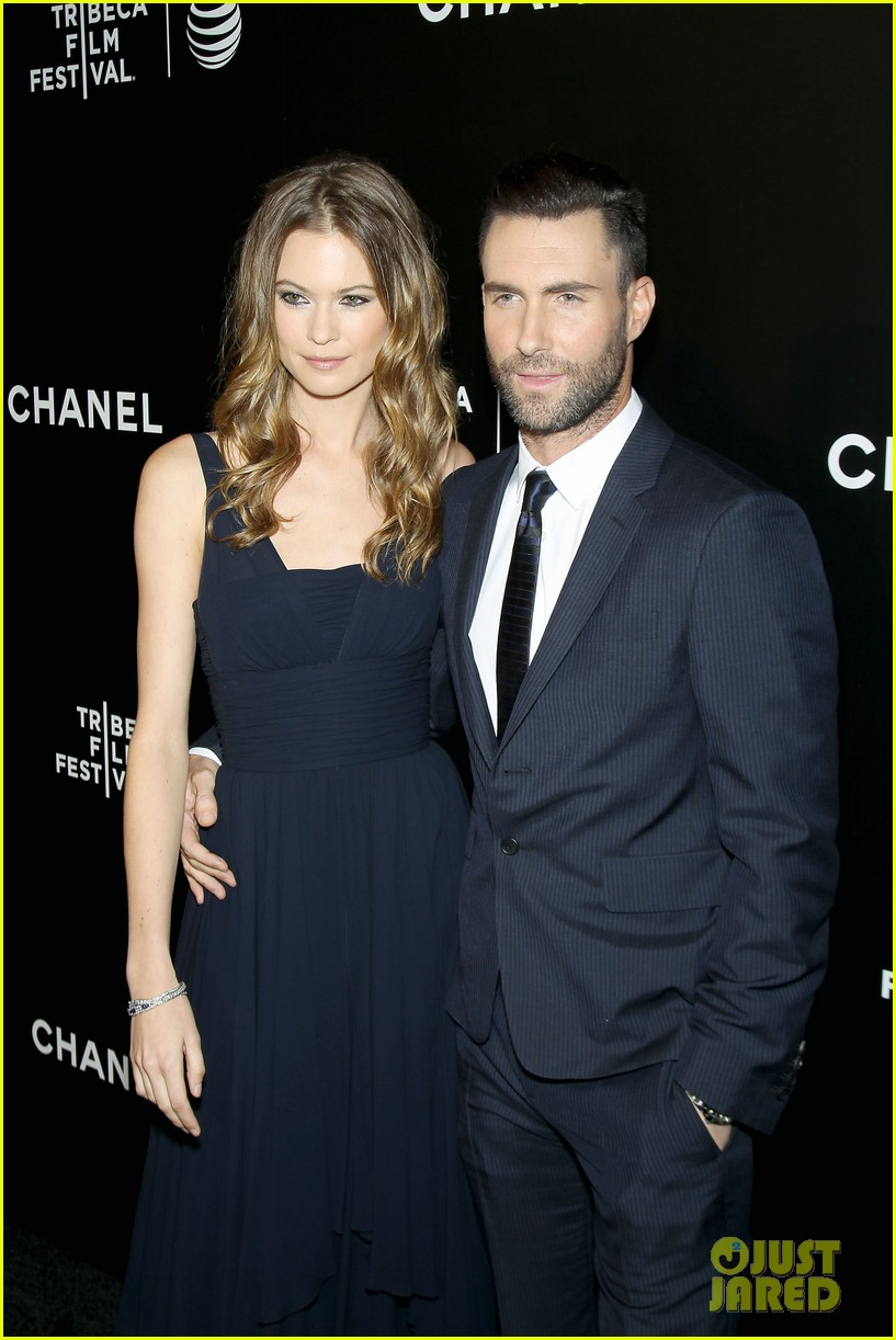 adam levine behati prinsloo party the night away at tribeca 163099969