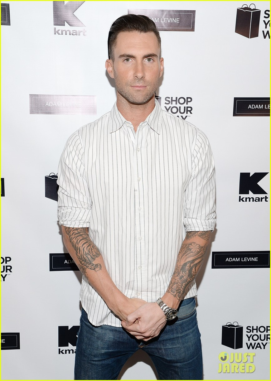 adam levine celebrates launch of new womens summer collection 043094409
