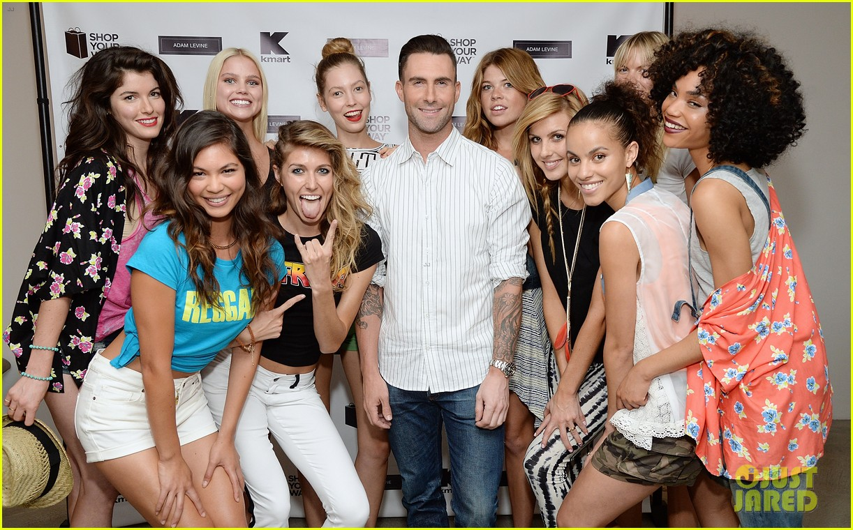 adam levine celebrates launch of new womens summer collection 093094414